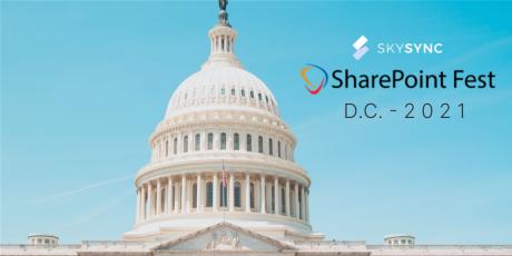 SkySync SharePoint Fest DC 2021